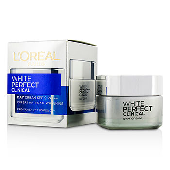 Loreal 190454 White Perfect Clinical Day Cream SPF19 PA Plus