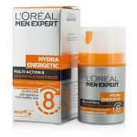 Loreal 204915 Men Expert Hydra Energetic Multi-Action 8 Anti-Fatigue Moisturizer