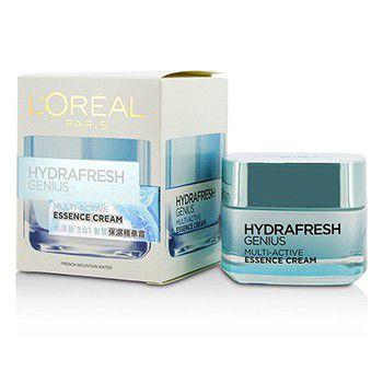 Loreal 205166 Hydrafresh Genius Multi-Active Essence Cream
