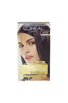 Loreal U-HC-3557 Superior Preference Fade-Defying Color No. 4A Dark Ash Brown - Cooler - 1 Application - Hair Color