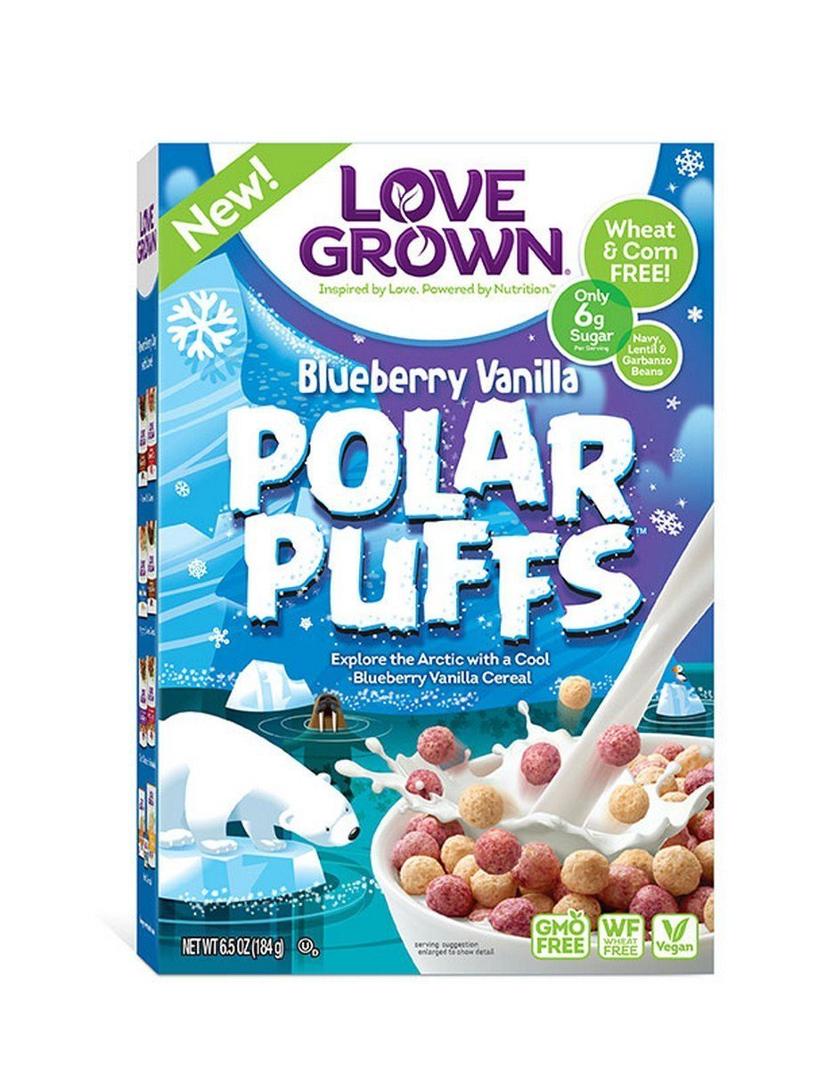 Love Grown 272188 6.5 oz Polar Puffs Cereal Pack of 6
