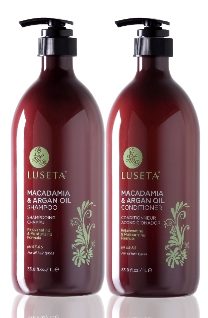 Luseta L3020 33.8 oz. Macadamia & Argan Oil Conditioner For Dry Damaged Hair