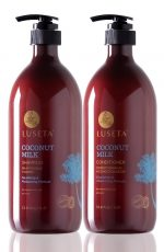 Luseta L3024 33.8 oz. Coconut Milk Conditioner For Coarse Hair