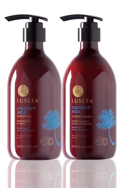 Luseta L3024S 16.9 oz. Coconut Milk Conditioner For Coarse Hair Pack Of 2