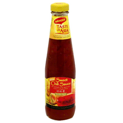 MAGGI SAUCE CHILI SWT-10.1 OZ -Pack of 6