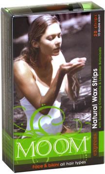 MOOM Express Wax Strips for Face & Bikini - 220562