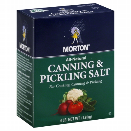 MORTONS SALT CANNING & PICKLING-4 LB -Pack of 9