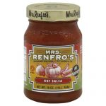 MRS RENFRO SALSA PICANTE HOT-16 OZ -Pack of 6