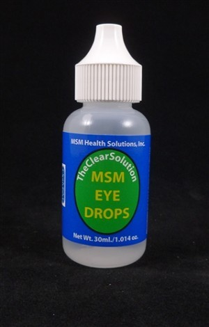 MSM Health Solutions 179 30 ml Eye Drops Bottle