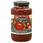 MUIR GLEN SAUCE PASTA FF TMO BASIL-25.5 OZ -Pack of 6