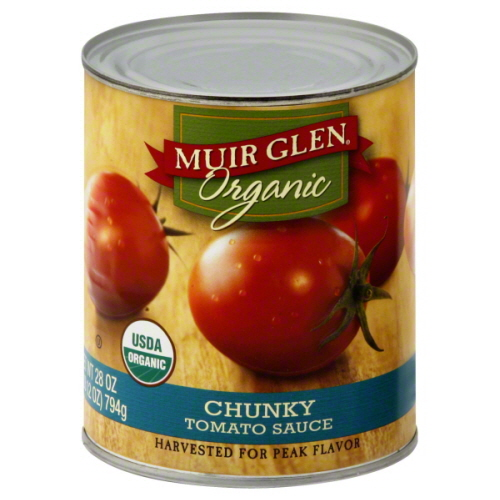 MUIR GLEN TOMATO SCE CHUNK-28 OZ -Pack of 6