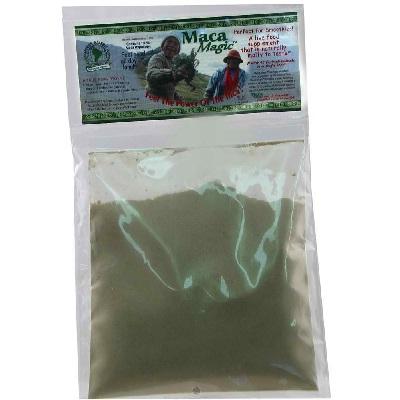 Maca Magic BG15414 Maca Magic Root Raw Powder - 1x3.5OZ