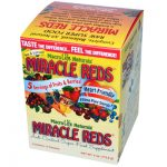Macrolife Naturals 0793810 Miracle Reds Antioxidant Super Food Supplement 12 Packets 4 oz - 112.8 g - 12-.33oz