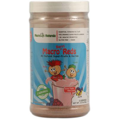 Macrolife Naturals 1064591 Jr. Macro Reds for Kids Berri - 3.3 oz