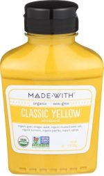 MadeWith 276970 9 oz Yellow Organic Mustard Pack of 6