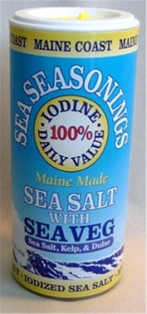Maine Coast Sea Vegetables Seasonings Sea Salt With Sea Vegetables 1.50-Ounce - -Pack of 1