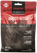 Majestys MBBHJGF28 Buddy Bites Hip & Joint Grain-Free Formula Carob & Sweet Potato - 28 count