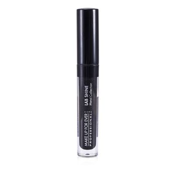 Make Up for Ever 170236 Lab Shine Metal Collection Chrome Lip Gloss - M0 Onyx