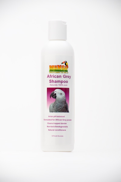 Mango Pet Products 1529 African Grey Shampoo 8 Oz.