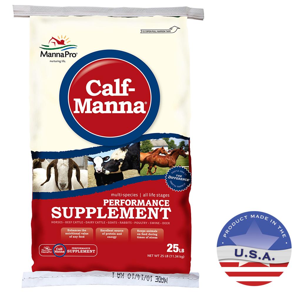 Manna Pro 040MAN-2125 25 lbs Calf-Manna Performance Supplement