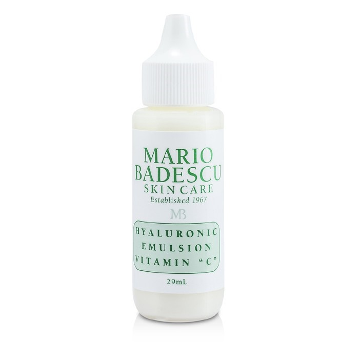 Mario Badescu 177229 Hyaluronic Emulsion with Vitamin C - for Combination Dry & Sensitive Skin Types