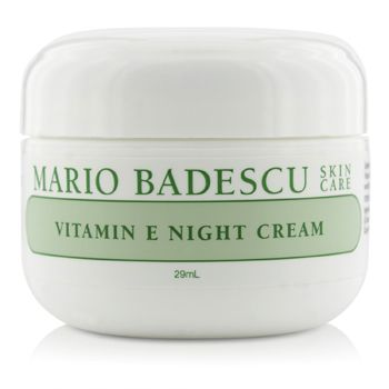 Mario Badescu 177242 Vitamin E Night Cream for Dry & Sensitive Skin Types