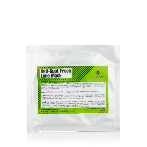 Martinni Beauty MF50026 Anti-Spot Fresh Lime Mask