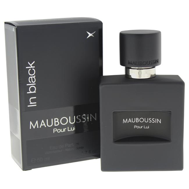 Mauboussin M-5572 1.7 oz Pour Lui in Black Eau De Parfum Spray for Men