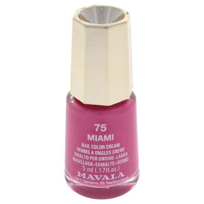 Mavala W-C-13912 Nail Lacquer No. 75 - Miami Nail Polish for Women 0.17 oz