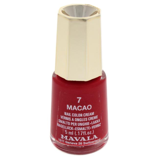 Mavala W-C-13923 Nail Lacquer No. 7 - Macao Nail Polish for Women 0.17 oz