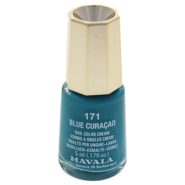 Mavala W-C-13933 Nail Lacquer No. 171 - Blue Curacao Nail Polish for Women 0.17 oz