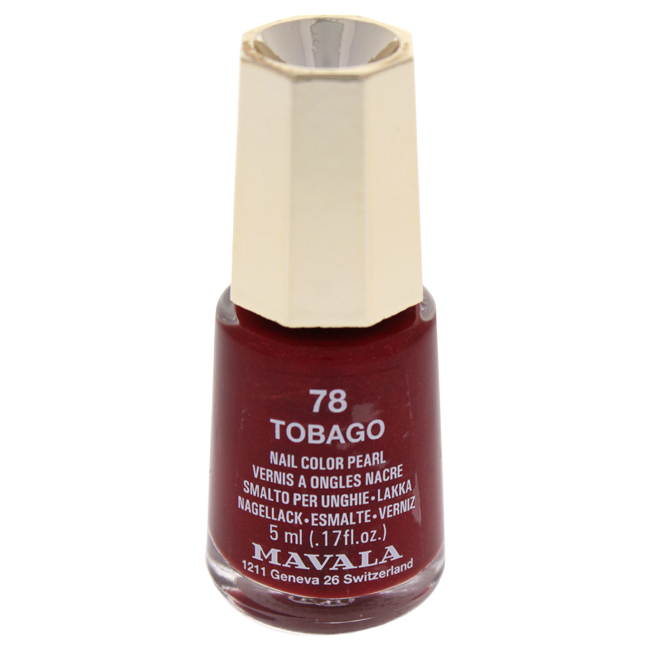 Mavala W-C-13936 Nail Lacquer No. 78 Tabago Nail Polish for Women 0.17 oz