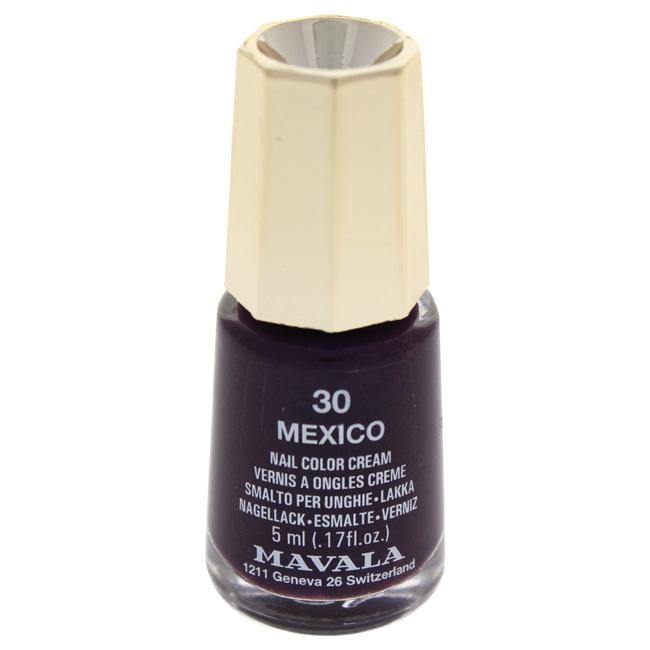 Mavala W-C-13945 Nail Lacquer No. 30 - Mexico Nail Polish for Women 0.17 oz