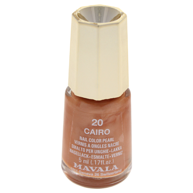 Mavala W-C-13950 Nail Lacquer No. 20 - Cairo Nail Polish for Women 0.17 oz