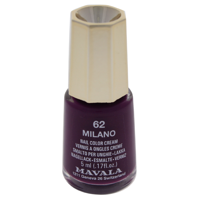 Mavala W-C-13953 Nail Lacquer No. 62 - Milano Nail Polish for Women 0.17 oz