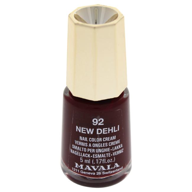 Mavala W-C-13959 Nail Lacquer No. 92 - New Dehli Nail Polish for Women 0.17 oz