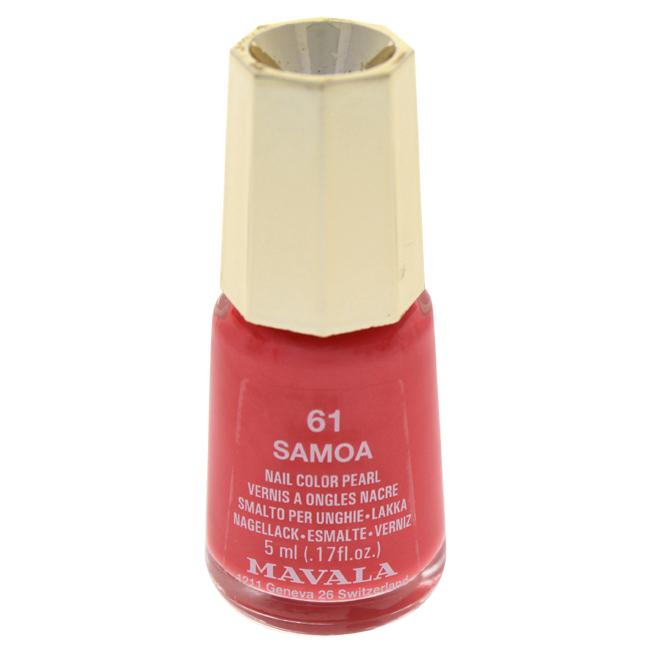 Mavala W-C-13969 Nail Lacquer No. 61 - Samoa Nail Polish for Women 0.17 oz