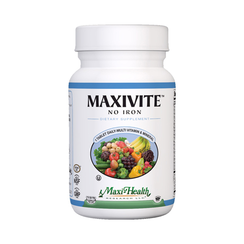 Maxi Health Kosher Vitamins 0423590 Maxivite One A Day Tablets 90 Count