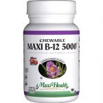 Maxi Health Kosher Vitamins Maxi B12 5000 - Chewable - 60 Tablets - 1510924