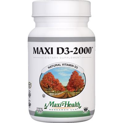 Maxi Health Maxi D3-2000 - 2000 IU - 90 Tablets