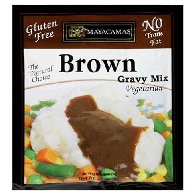 Mayacamas BG15703 Mayacamas Brown Gravy Mix GF - 12x0.7OZ