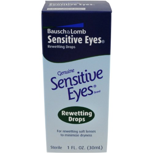 Merchandise 0697869 Bausch & Lomb Sensitive Eyes Rewetting Drops 1 oz Bottle