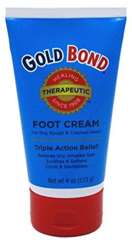 Merchandise 0817457 Gold Bond Foot Cream Triple Action Relief 4 oz