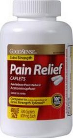 Merchandise 1741438 Good Sense Extra Strength Pain Reliever Caplets