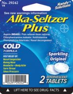 Merchandise 1865803 Alka Seltzer Plus 2 Count