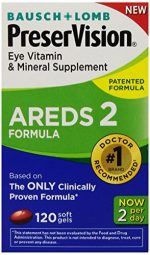 Merchandise 1878573 Bausch & Lomb Preservision Eye Vitamin & Mineral Supplement AREDS 2 Formula 120-Count
