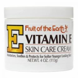 Merchandise 1889974 Fruit of the Earth Vitamin E Skin Care Cream 4 oz
