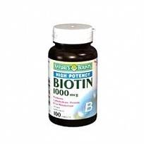 Merchandise 1890581 Natures Bounty Biotin High Potency 1000 mg Tablets 100 Count