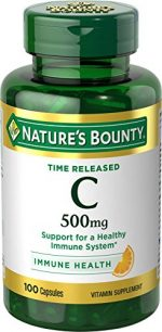 Merchandise 1890646 Natures Bounty C-500 Time Released 100 Tablet