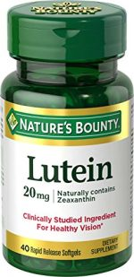 Merchandise 1891006 Natures Bounty Lutein 20 mg - 40 Count